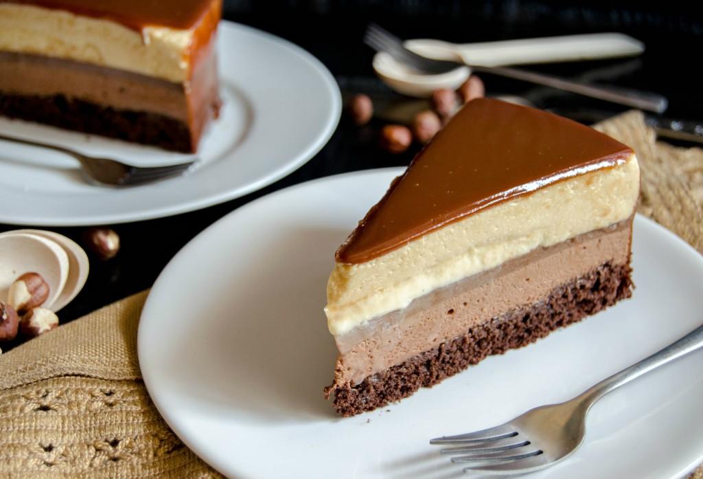 Chocolate Creme Ring Cake