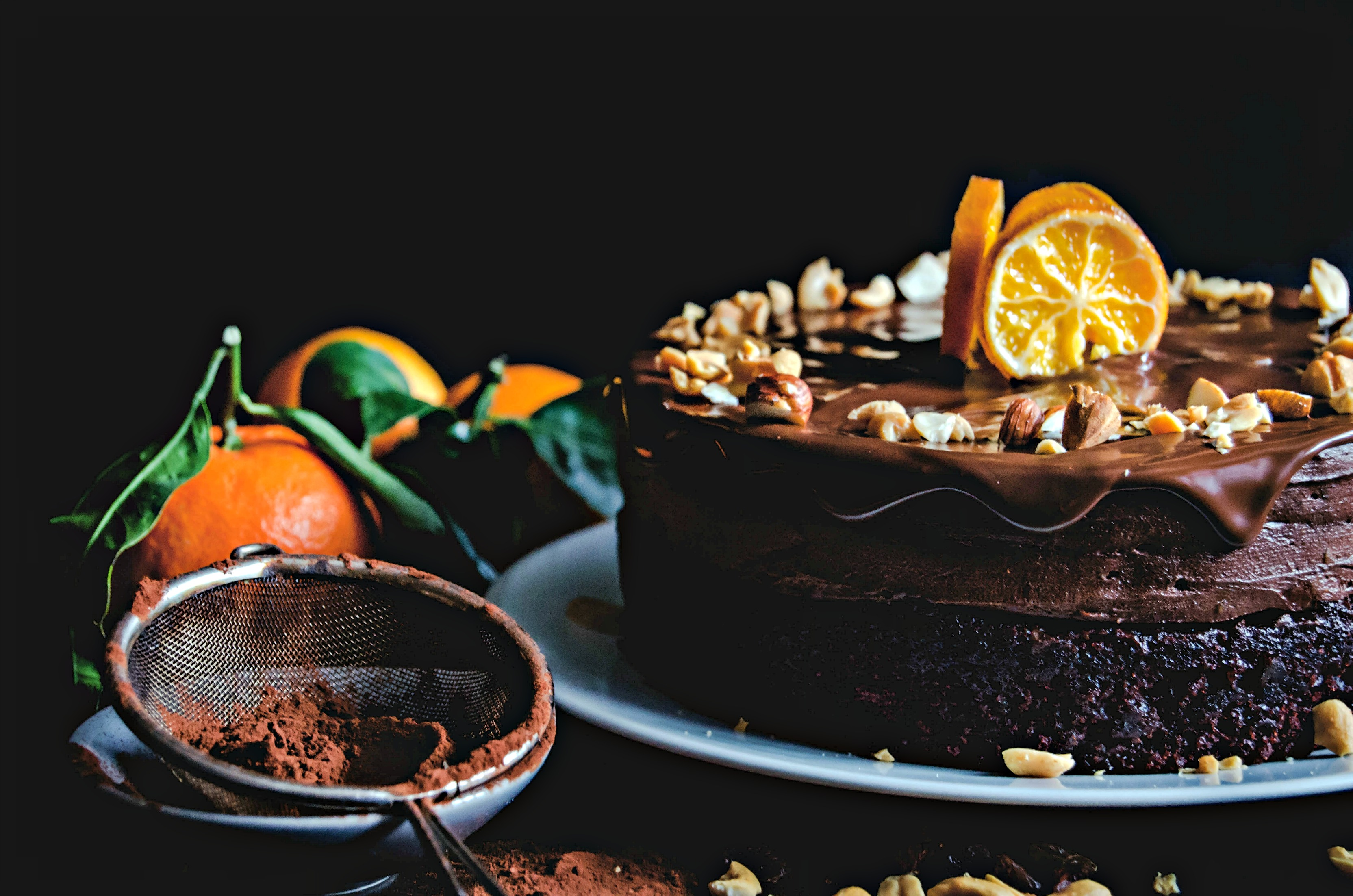 Vegan Chocolate Mousse Cake - Tort de ciocolata de post