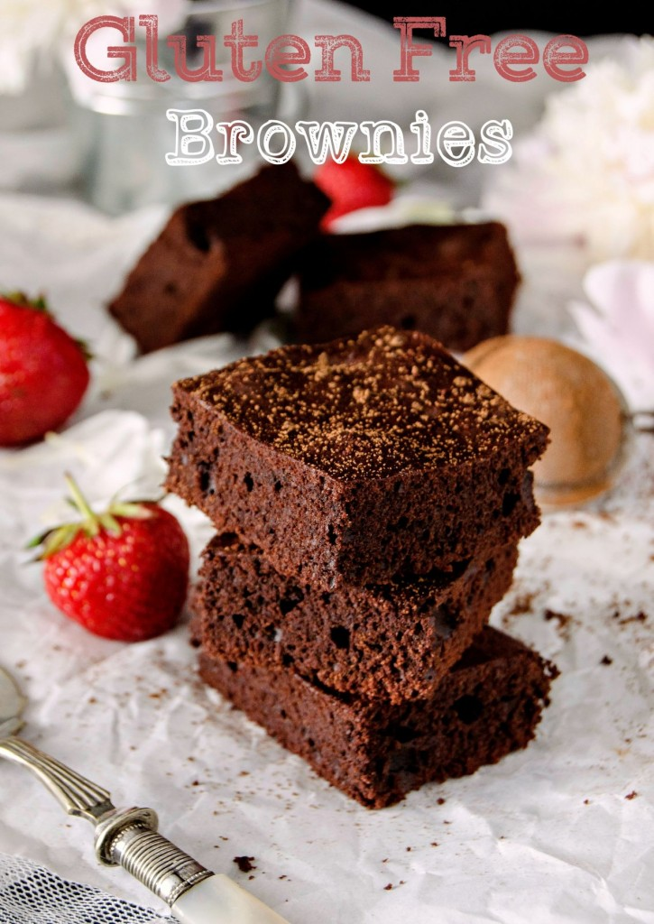 Gluten Free Brownies} – Brownies fara gluten
