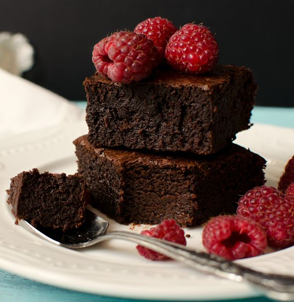 Double Chocolate Stout Brownies - Brownies cu bere neagra